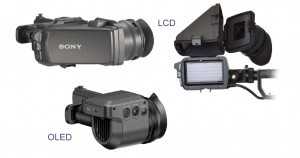 Sony EVF's