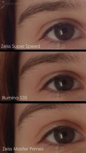 Zoe eye detail